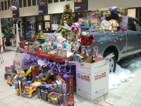 The ''Toys for Tots'' Tundra.