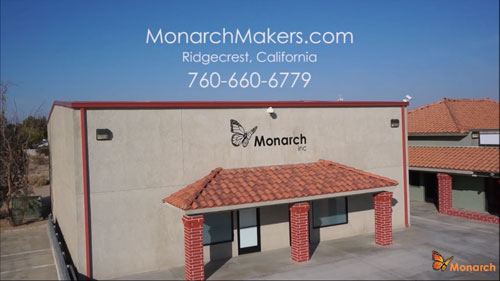 Monarch factory and offices, 1519 N. Norma St., Ridgecrest