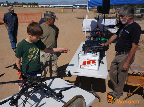 The First Annual Drone Festival was held May 9, 2015, at the Desert Empire Fairgrounds, Ridgecrest. Sponsored by DEF and co-sponsored by Monarch, Inc.