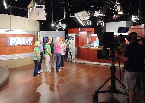 Our chapter in Mt. Pocono on local news show!