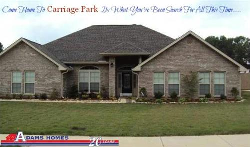 Carriage Park Community | Owens Cross Roads, AL 35763 | (256) 725-7614