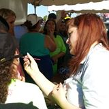 Face Painting at Special Olympics 2014