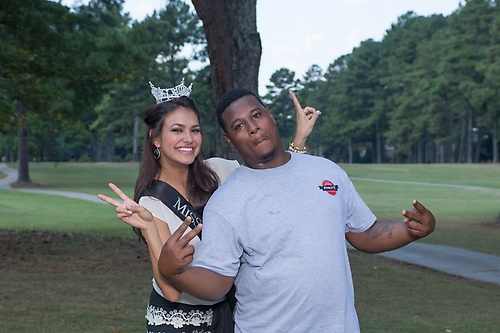 Miss Alabama visits the 2nd Annual Chip In with Ability Plus Golf Tournament