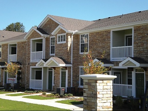 Townhome-style apartments