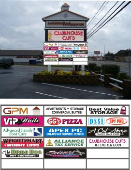 Signage - Crossville Commons Commercial Center
