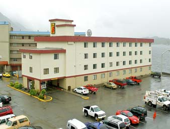 The Super 8 in Misty Ketchikan