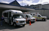 Emergency exercise at PeaceHealth Ketchikan Medical Center.