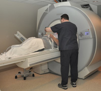 MRI machine at PeaceHealth Ketchikan Medical Center.