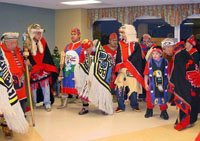 Native Dancers share their heritage with Long-Term Care residents.