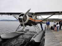 Getting around Southeast Alaska by float plane.