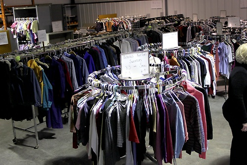 The Clothing Center saves MOM families nearly a half-million dollars per year (calculcated at thrift store prices).