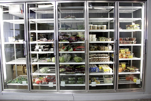 The expanded Food Pantry regularly distributes over 80,000 pounds of food per month.  It is one of the largest in Dane County and is open 6 days a week.