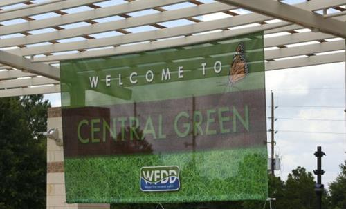 Central Green Park Signage