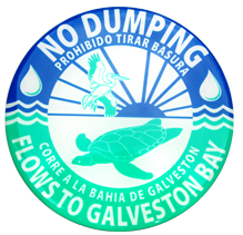 ''No Dumping'' Decal