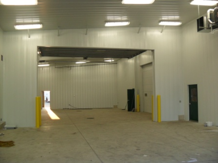 Custom Agri Systems, Inc.-paint and power wash building