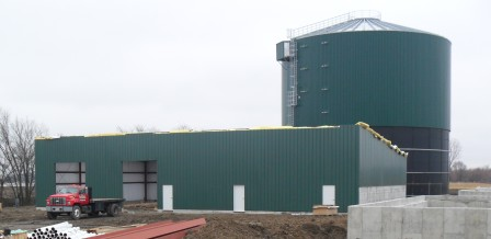 Napoleon Biogas-during construction