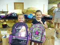 United Way's Stuff the Bus helps HC Kids with School Supplies