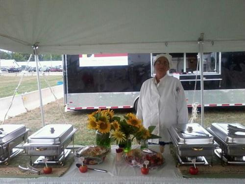 Chef Anita @ Henry County Fair 2012