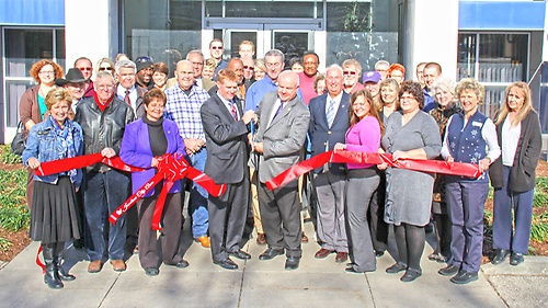 Ribbon Cutting for the Chamber of Commerce
