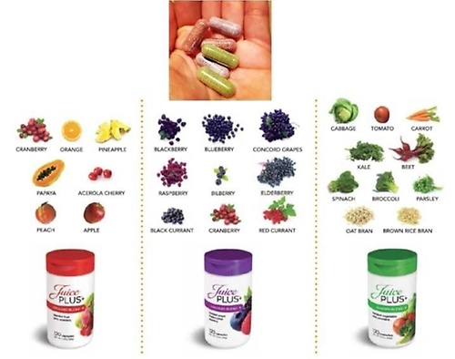 We are not a vitamin, we are real food in capsule form