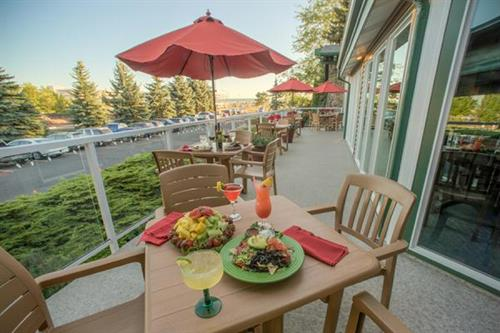 Outside Seating during Summer