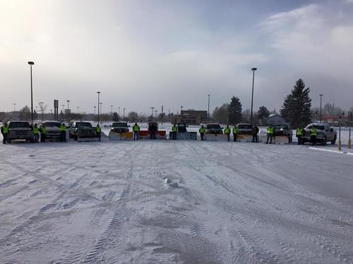Snow Removal Crew