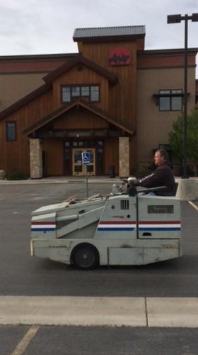 Parking Lot Maintenance- Sweeping