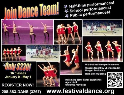 Join Dance Team!