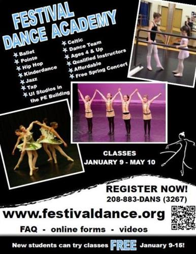Festival Dance Academy - Register today!
