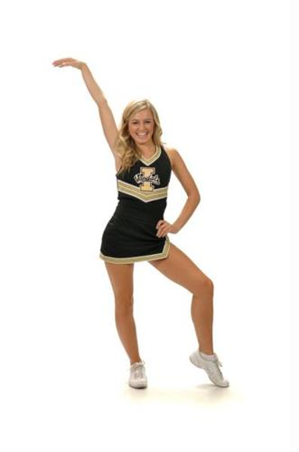 Dance Team Instructor and UI Cheerleader, Morgan Berriochoa