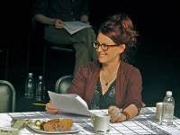 Actress Megan Mullally reads in a New Play Workshop