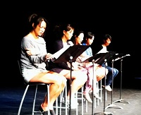New Play Reading at Zalk Theater at Besant Hill
