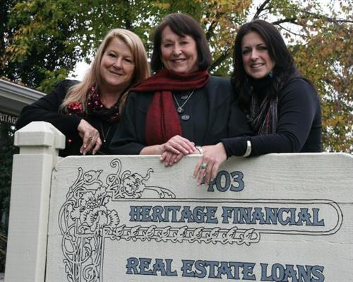 The Heritage Team ~ Jo Ann Hagar, Wanda Martin and Emily Sandefur