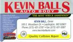 Kevin Ball Auto Body & Sales, Inc.