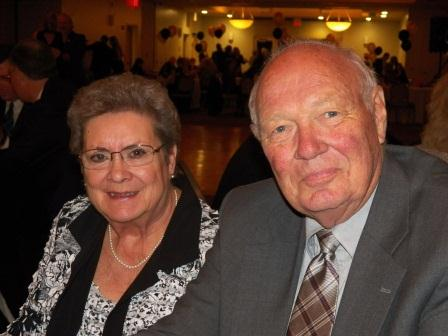 Carol and Harvey Coleman of Chapin. Harvey was named 2012 Volunteer of the Year.
