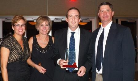 Scott Hanners, the Chamber's 2012 Business Person of the Year.