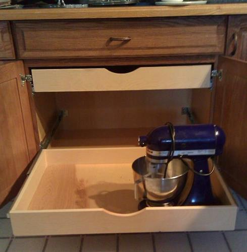 Roll Out Kitchen Cabinet Shelf / Drawer