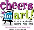 Cheers to Art! Logo
