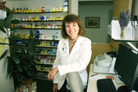 Our compounding pharmacist, Mary Snider, tailors medications to patients' specific needs.