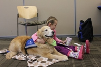 Ruff Readers at 2012 Community Health and Safety Day