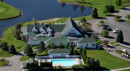 Clubhouse Rear Aerial