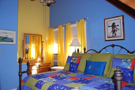 The Loft Suite - Bedroom