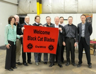 Red Rug presentation at Black Cat Blades