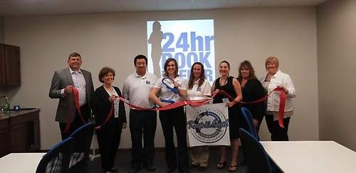 24hr Bookkeeper Ribbon Cutting