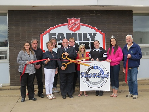 Salvation Army of Hibbing Ribbon Cutting