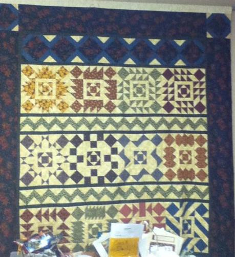 2011 Thimbleberries club quilt.
