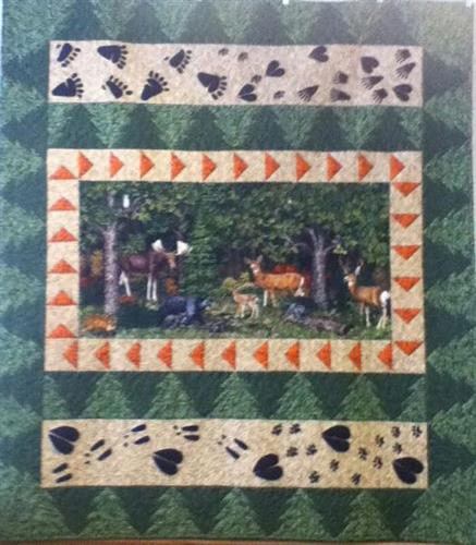 Original Design from BRENDA SEIDL. ' Forest Friends'  Kits available