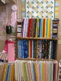 Selection of  childrens fabrics, ranging from lights and brights for girls to trucks and  dirt for the boys!