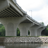 College Ave Bridge, Appleton, WI