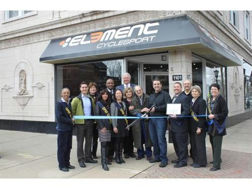 Element Cyclesport Ribbon Cutting